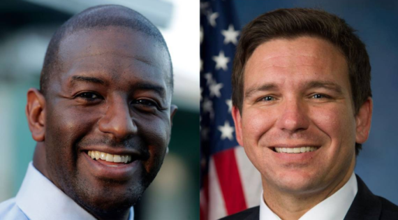 Terry Gillum Ron Desantis Opens Mouth Inserts Foot