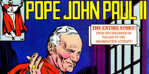 Pope John Paul II Comic Book