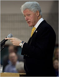Bill Clinton Says He Opposed Iraq War from Start (UPDATED)