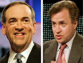 Mike Huckabee Shill Dick Morris May be on Payroll