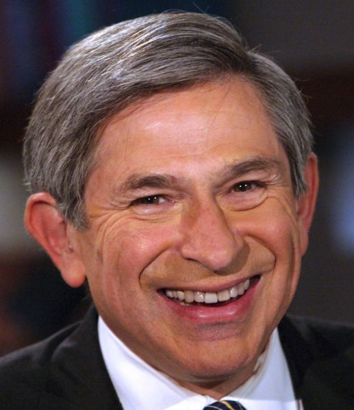 Wolfowitz Back in Bush Administration