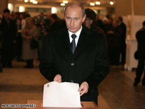 Putin Wins Big in Undemocratic Election