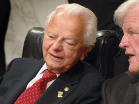 Democrats May Push Byrd From Chairmanship