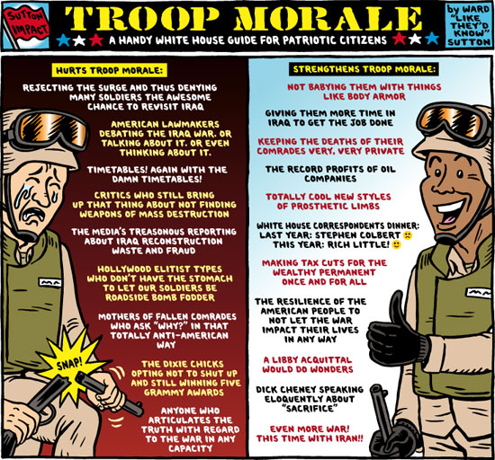 Military Morale and the War of Words