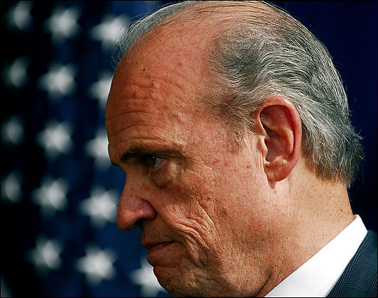 Fred Thompson Drops Out of Debate, Quitting Race?