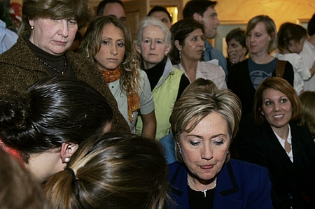 Hillary Clinton Cries Tears of Unfathomable Sadness