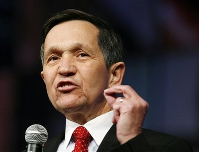 Dennis Kucinich Quits White House Race