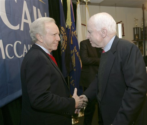 Lieberman Rules Out Running With McCain