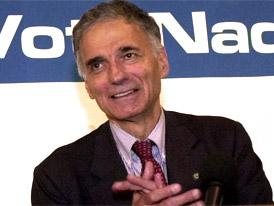 Ralph Nader Backs Edwards, Slams Clinton