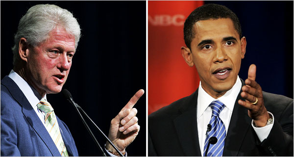 Bill Clinton Says Obama Not Part of 1990s