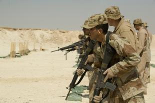 Iraqi Army Trading AK-47 for M-16