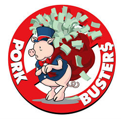 Porkbusters Oust Green Over Flake Flap