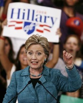 Clinton Wins Big in Pennsylvania, Fights On