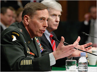 Petraeus Senate Testimony Cites 'Significant but Uneven' Progress