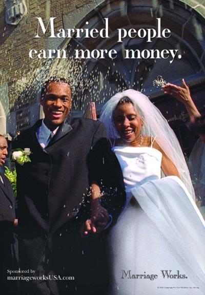 Married People Earn More Money