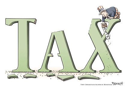 McCain Cuts Taxes More, Obama Cuts More Taxes