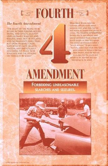 U.S. Constitution: 4th Amendment