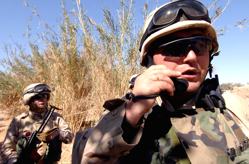 Iraq War Now Peacekeeping Mission?