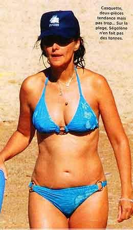 Segolene Royal Closer Bikini Photos