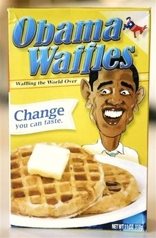 Obama Waffles - Racist or Fair Satire?