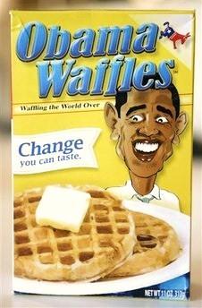 obama waffles � racist or fair satire