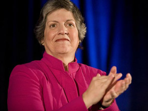 Napolitano to Homeland Security