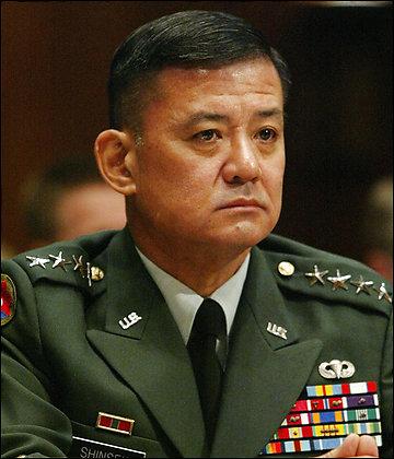 Shinseki to Head Veterans Affairs