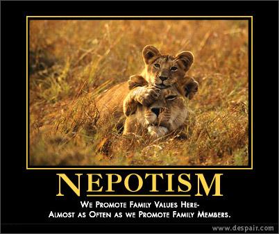 Nepotism Nation?