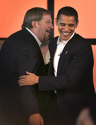 Obama Picks Warren, Angers Gays