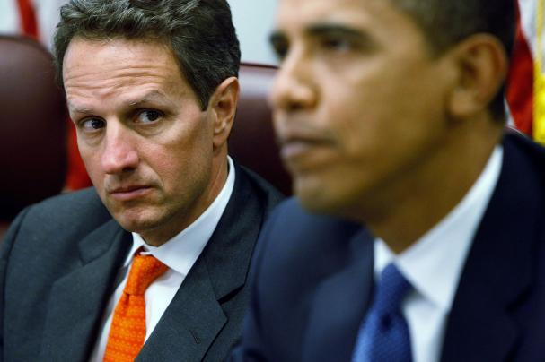 White House Pressuring Geithner To Stay At Treasury