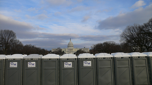 Obama Inauguration Goes into the Toilet