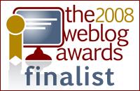 Weblog Awards 2008