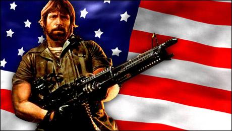 Chuck Norris Calls for Revolution