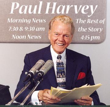 Paul Harvey Dead at 90