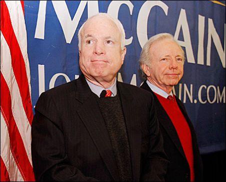 Lieberman as McCain's Running Mate