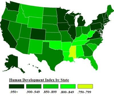 Human Development Map is Bunk