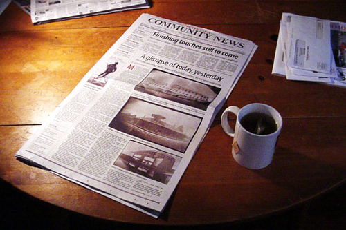 Newspapers Writing for Selves, Not Readers?