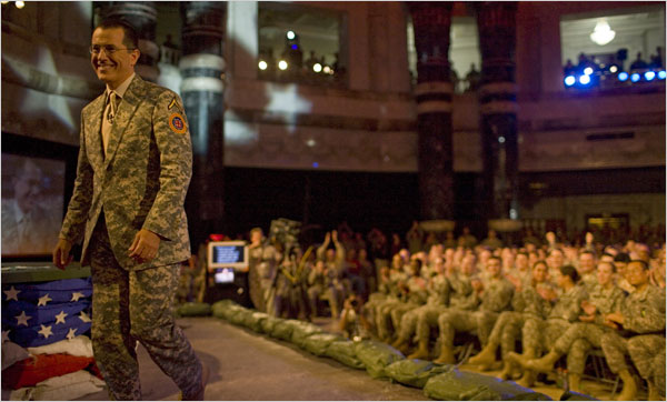 Stephen Colbert in Iraq