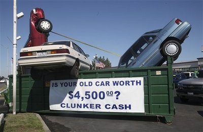 Cash for Clunkers: Not Much