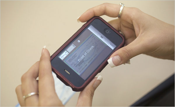 USAA iPhone Check Deposits
