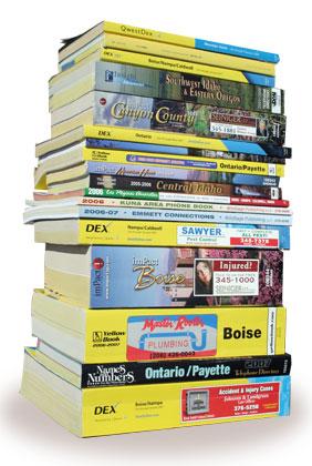 Paper Phone Books Are Obsolete