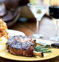 Martini and Steak