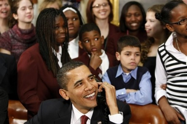 Obama's Schoolchildren Speech