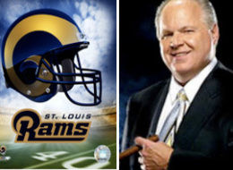 Rush Limbaugh Dropped from Rams Bid Team