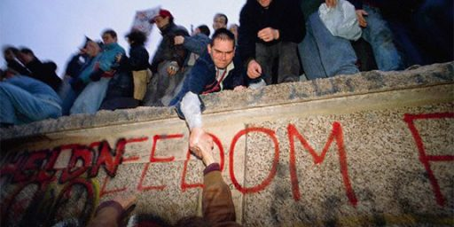 Berlin Wall Fall: 20 Years Later