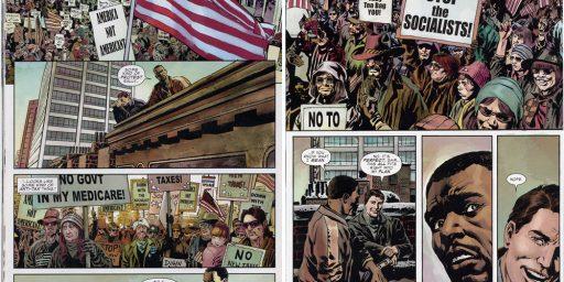 Captain America vs. Tea Party