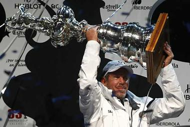 America's Cup Back in American Hands, No One Cares