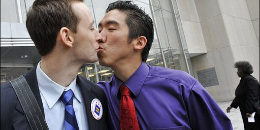 Gay Kiss Costs WaPo 27 Subscribers