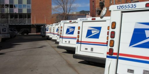 Saturday Mail Delivery Threatened Again