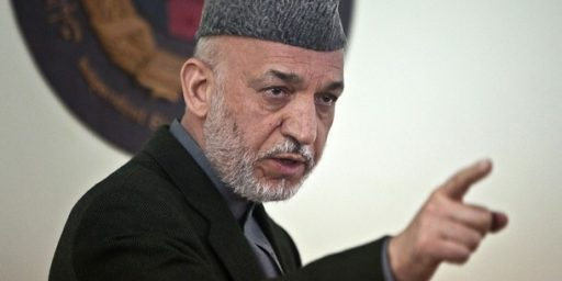 Hamid Karzai Blasts United States In Farewell Address